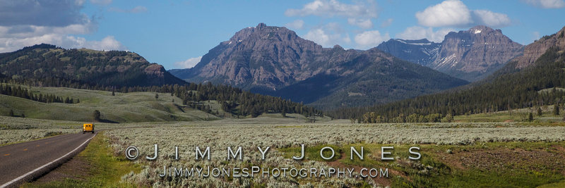 Soda Butte Valley in Late Spring